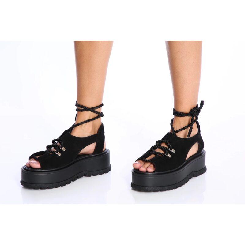sandale jasmine negre 1